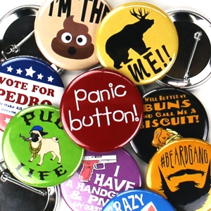 Pin Backed Button Templates