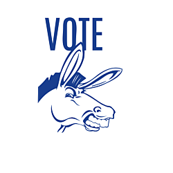 Alabama Vote Democrat Decal
