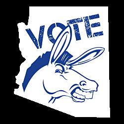 Arizona Vote Democrat Decal