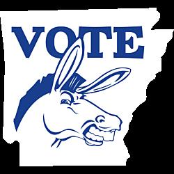 Arkansas Vote Democrat Decal