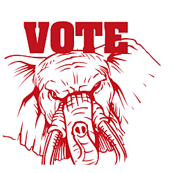 Arkansas Vote Republican Decal