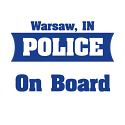 Police On Board Decal