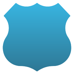 Badge Static Cling