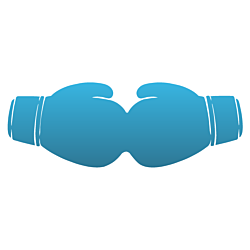 Boxing Gloves Decal