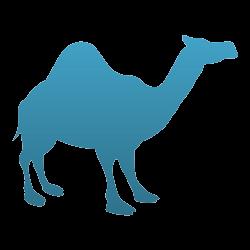 Camel Temporary Tattoo