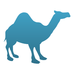 Camel Vinyl Decal