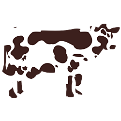 Spotted Cow Decal