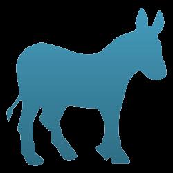 Donkey Vinyl Decal