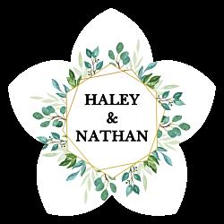 Wedding Flower Car Magnet