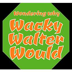 Wacky Walter Car Magnet