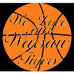 Tigers Basketball Car Magnet