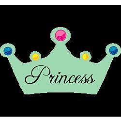 Princess Crown Decal