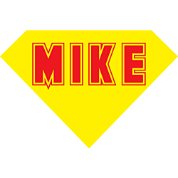 Personalized Superman Decal