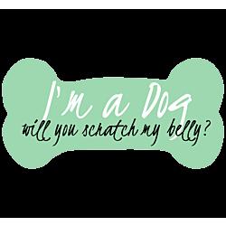 I'm a Dog Decal