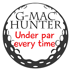 Golf Hunter Decal