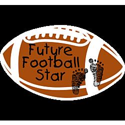 Future Football Star Decal