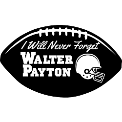 I Will Never Forget Football Decal