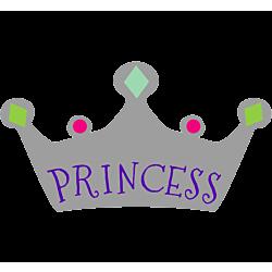 Princess Temporary Tattoo
