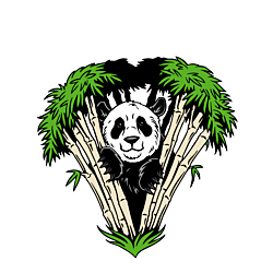 Panda Temporary Tattoo