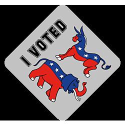 I Voted Temporary Tattoo