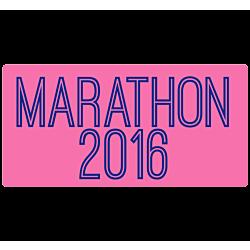 Marathon Temporary Tattoo