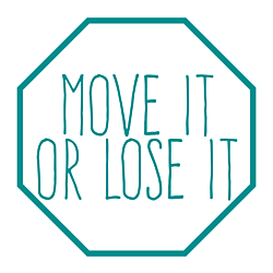 Move It Or Lose It Static Cling