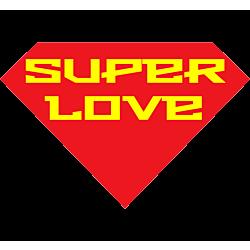 Super Love Static Cling