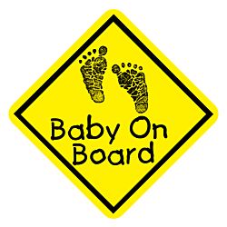 Baby On Board Static Cling