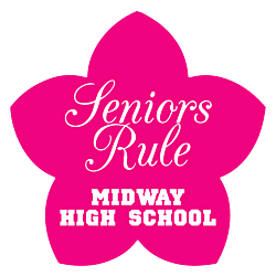 Seniors Rule Static Cling
