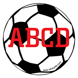 Simple Soccer Decal