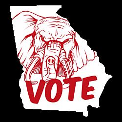 Georgia Vote Republican Decal