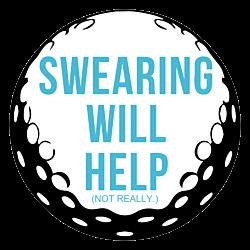 Swearing Will Help Golf Ball Magnet