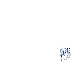 Hawaii Vote Democrat Decal