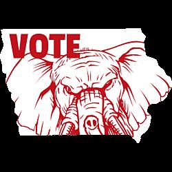Iowa Vote Republican Decal