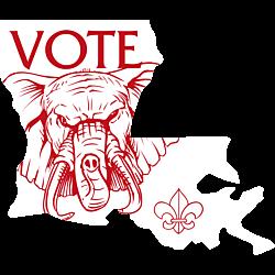 Louisiana Vote Republican Decal