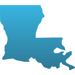 LA State Decals