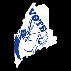 Maine Vote Democrat Decal