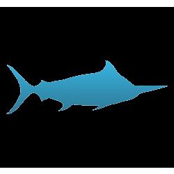 Marlin Temporary Tattoo
