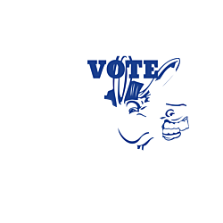 Maryland Vote Democrat Decal