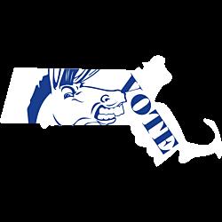 Massachusetts Vote Democrat Decal