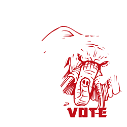 Michigan Vote Republican Decal