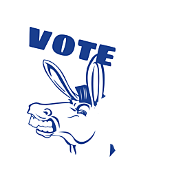 Minnesota Vote Democrat Decal