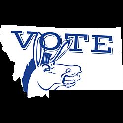 Montana Vote Democrat Decal