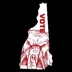 New Hampshire Vote Republican Decal