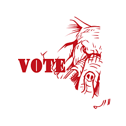 New York Vote Republican Decal