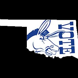 Oklahoma Vote Democrat Decal