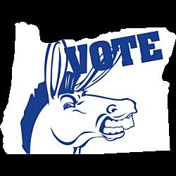 Oregon Vote Democrat Decal
