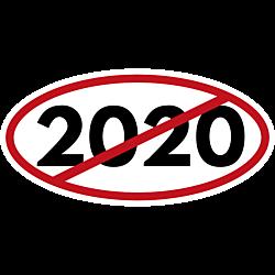 Go Away 2020 Magnet