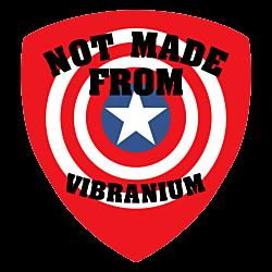 Not Vibranium Shield Magnet