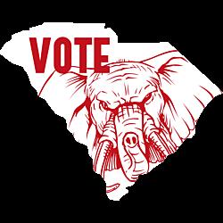 South Carolina Vote Republican Decal